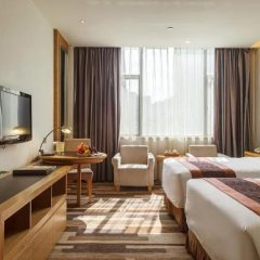 Отель Golden Bridge Garden Hotel Китай, Сямынь - отзывы, цены и фото номеров - забронировать отель Golden Bridge Garden Hotel онлайн комната для гостей фото 2