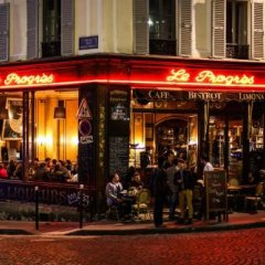Апартаменты Montmartre Apartments Picasso Париж гостиничный бар