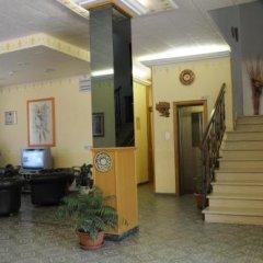 Отель Albergo Leonardo Кьянчиано Терме интерьер отеля фото 3