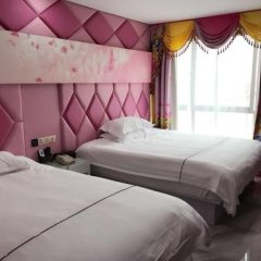 Отель Nihang Theme Hotel Китай, Шанхай - отзывы, цены и фото номеров - забронировать отель Nihang Theme Hotel онлайн комната для гостей фото 2