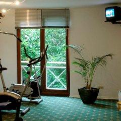 Отель Balance Hotel Leipzig Alte Messe Германия, Ройдниц-Торнберг - 1 отзыв об отеле, цены и фото номеров - забронировать отель Balance Hotel Leipzig Alte Messe онлайн фитнесс-зал фото 2