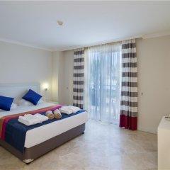 Отель Crystal Boutique Beach +16 Богазкент комната для гостей фото 5