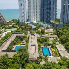Апартаменты Plumeria Serviced Apartment Паттайя пляж