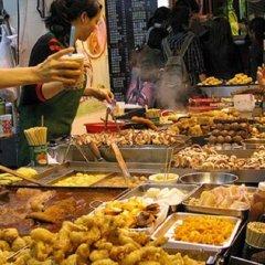 Отель Padi Madi Guest House Бангкок питание фото 2