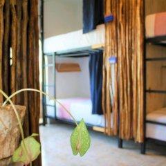 Отель Namastay Hostel Мексика, Плая-дель-Кармен - отзывы, цены и фото номеров - забронировать отель Namastay Hostel онлайн комната для гостей фото 3