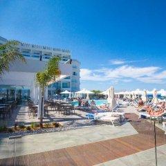 Evalena Beach Hotel пляж фото 2