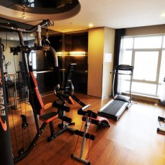 Отель Da Zhong Pudong Airport Hotel Shanghai Китай, Шанхай - 2 отзыва об отеле, цены и фото номеров - забронировать отель Da Zhong Pudong Airport Hotel Shanghai онлайн фитнесс-зал