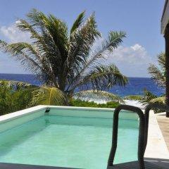 Отель Le Crusoe Французская Полинезия, Бора-Бора - отзывы, цены и фото номеров - забронировать отель Le Crusoe онлайн бассейн