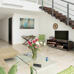Отель Costa Fina Oceanview Penthouse Мексика, Плая-дель-Кармен - отзывы, цены и фото номеров - забронировать отель Costa Fina Oceanview Penthouse онлайн интерьер отеля