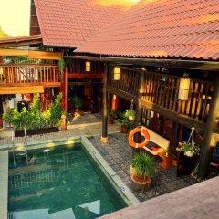 Отель Hidden Beach Pool Villas бассейн