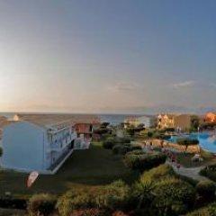Отель Mareblue Beach Корфу приотельная территория