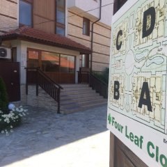 Апартаменты Four Leaf Clover Apartments балкон
