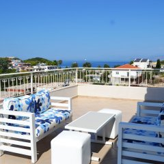 Отель Villa August Ksamil Албания, Ксамил - отзывы, цены и фото номеров - забронировать отель Villa August Ksamil онлайн балкон