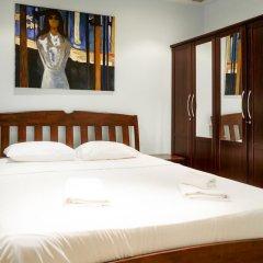 Апартаменты New Nordic Apartment 5 Паттайя комната для гостей фото 5