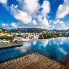 Отель Q Conzept Boutique Residence Таиланд, Карон-Бич - отзывы, цены и фото номеров - забронировать отель Q Conzept Boutique Residence онлайн бассейн