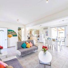 Отель Villa Galina Кипр, Протарас - отзывы, цены и фото номеров - забронировать отель Villa Galina онлайн комната для гостей фото 5