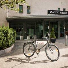 Отель Scandic Sjølyst спортивное сооружение
