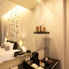 Отель Long Beach Luxury Villas сейф в номере