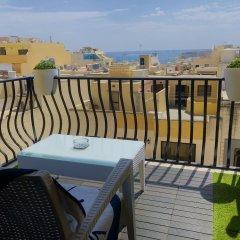 Апартаменты Marsascala Sea View Luxury Apartment & Penthouse Марсаскала балкон