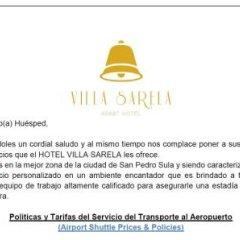 Hotel Villa Sarela фото 3