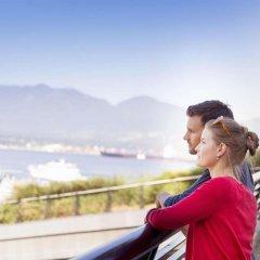 Отель The Fairmont Waterfront Канада, Ванкувер - отзывы, цены и фото номеров - забронировать отель The Fairmont Waterfront онлайн балкон