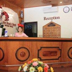Отель Palm Beach Hotel Вьетнам, Нячанг - 1 отзыв об отеле, цены и фото номеров - забронировать отель Palm Beach Hotel онлайн интерьер отеля фото 3
