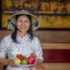 Отель Minh An Riverside Villa интерьер отеля фото 3