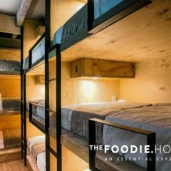The Foodie Hostel Мехико комната для гостей