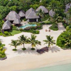 Отель Laucala Island пляж