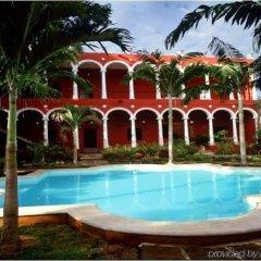 Отель Villa Merida бассейн