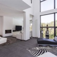Отель Architecture Villa In Sitges Hills Оливелла комната для гостей фото 2
