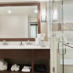 Отель Columbus Airport Marriott США, Колумбус - отзывы, цены и фото номеров - забронировать отель Columbus Airport Marriott онлайн ванная