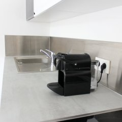 Отель Okeanos Apartment Франция, Ницца - отзывы, цены и фото номеров - забронировать отель Okeanos Apartment онлайн интерьер отеля