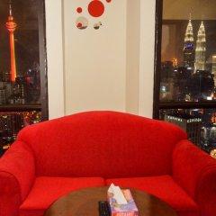 Отель Luxury Apartment at Time Square Малайзия, Куала-Лумпур - отзывы, цены и фото номеров - забронировать отель Luxury Apartment at Time Square онлайн гостиничный бар