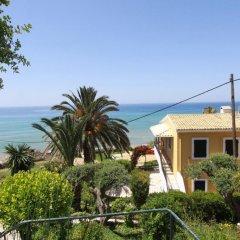 Отель Corfu Glyfada Menigos Resort пляж фото 3