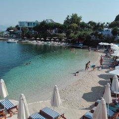 Отель Villa Nertili Албания, Ксамил - отзывы, цены и фото номеров - забронировать отель Villa Nertili онлайн пляж