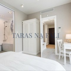 Апартаменты Taras Na Fali Apartments Сопот комната для гостей
