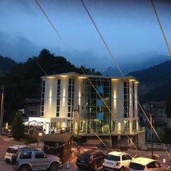 Отель Cristalresort Коллио парковка