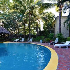 Hotel Suites del Sol Пуэрто-Вальярта бассейн