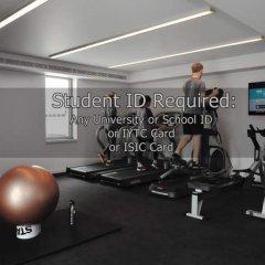 Отель Student Haus Kings Cross Лондон фитнесс-зал