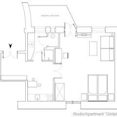 Отель Rosa Linde - Comfort B&B Австрия, Вена - отзывы, цены и фото номеров - забронировать отель Rosa Linde - Comfort B&B онлайн бассейн
