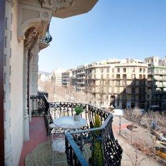 Отель BCN Rambla Catalunya Apartments Испания, Барселона - отзывы, цены и фото номеров - забронировать отель BCN Rambla Catalunya Apartments онлайн балкон
