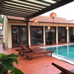 Отель Ha My Beachside Villa Hoian бассейн фото 2