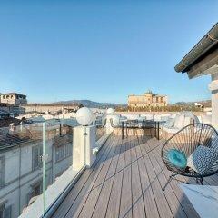 Отель Duomo Luxury Terrace Италия, Флоренция - отзывы, цены и фото номеров - забронировать отель Duomo Luxury Terrace онлайн балкон