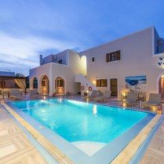 Отель Villa Voula Греция, Остров Санторини - отзывы, цены и фото номеров - забронировать отель Villa Voula онлайн бассейн фото 2