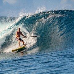 Отель Moorea Surf Bed and Breakfast Французская Полинезия, Муреа - отзывы, цены и фото номеров - забронировать отель Moorea Surf Bed and Breakfast онлайн спортивное сооружение