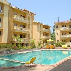 Отель Sandalwood Hotel & Retreat Индия, Гоа - отзывы, цены и фото номеров - забронировать отель Sandalwood Hotel & Retreat онлайн бассейн фото 2