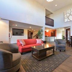 Отель HolmeSuites Columbus Airport/DLA США, Колумбус - отзывы, цены и фото номеров - забронировать отель HolmeSuites Columbus Airport/DLA онлайн комната для гостей фото 2