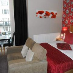 Отель Amherst Brighton комната для гостей