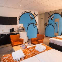 Amsterdam Teleport Hotel в номере фото 2